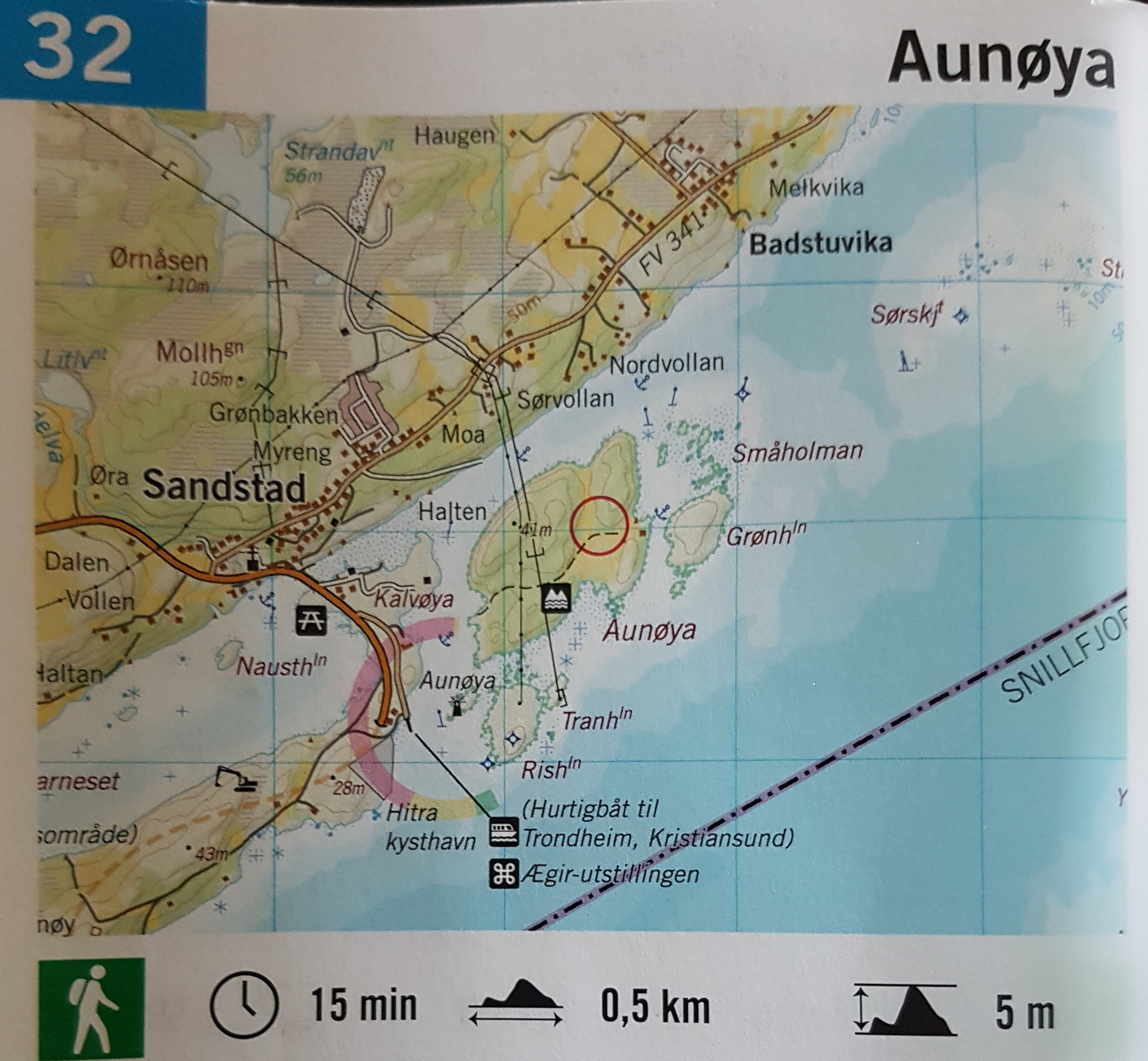 Kjentmannsprøve Aunøya